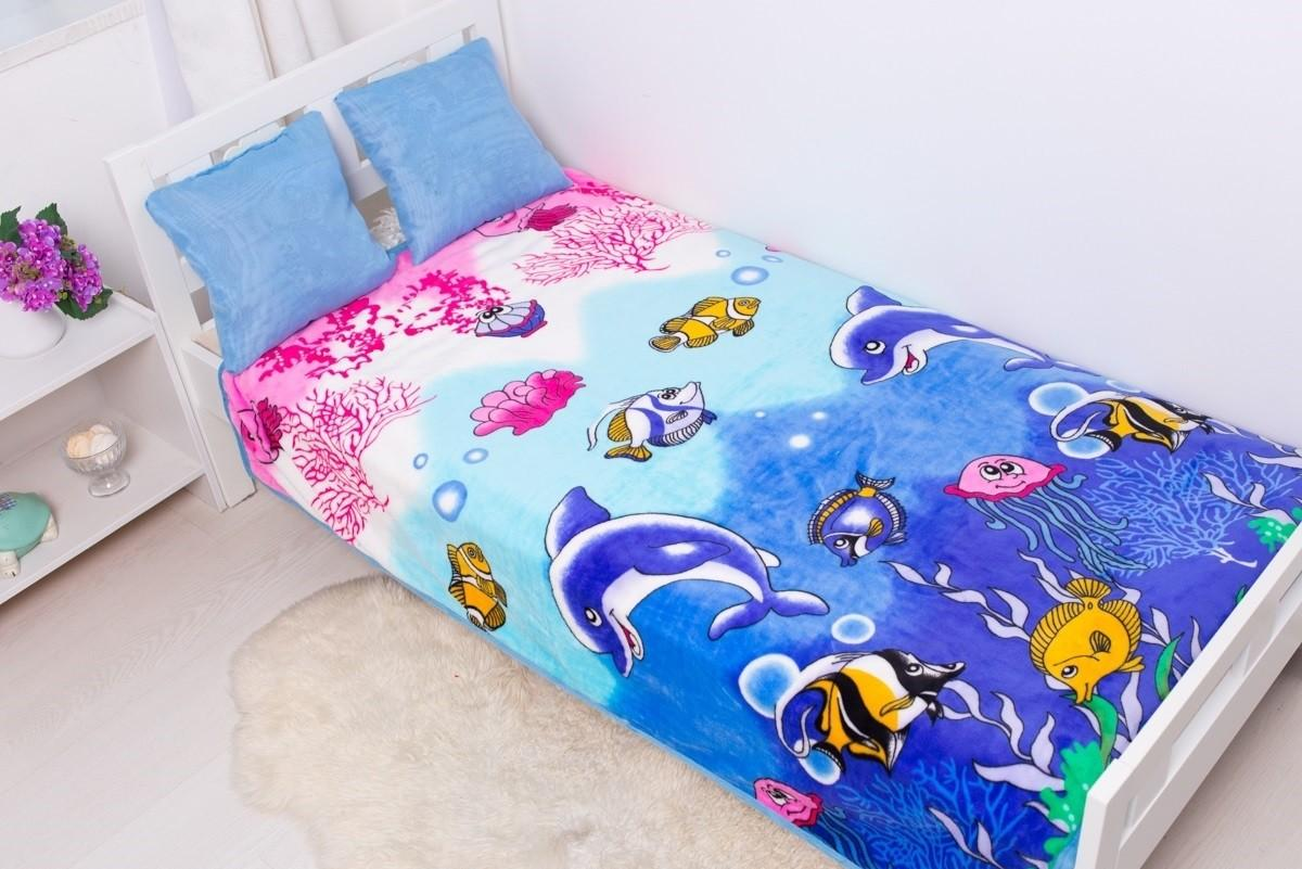 Плед Sleepy Kids Dolphin 0074 SotMarket.ru 1190.000