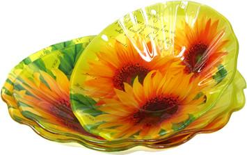 Набор тарелок Zibo Shelley Солнечная поляна ZS-30-30 SotMarket.ru 470.000