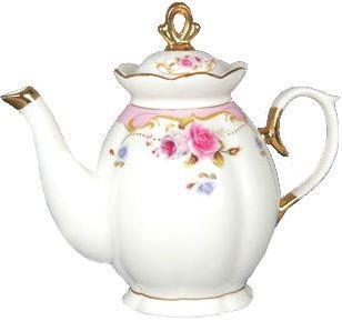 Заварочный чайник Розы-деколь VRD11 1 л SotMarket.ru 580.000