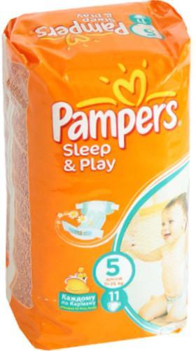 Pampers Sleep and Play Junior 11-18 кг 11 шт SotMarket.ru 260.000