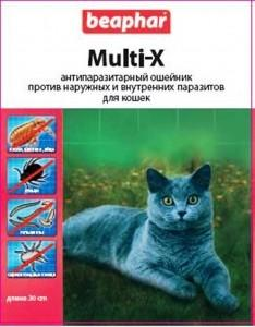 Ошейник Beaphar Multi-X 13190 SotMarket.ru 570.000