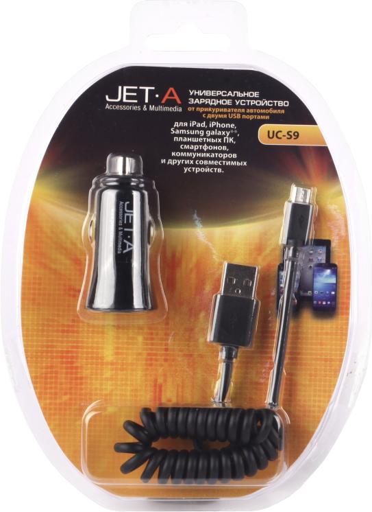 Универсальное автомобильное зарядное устройство Jet.A UC-S9 SotMarket.ru 650.000