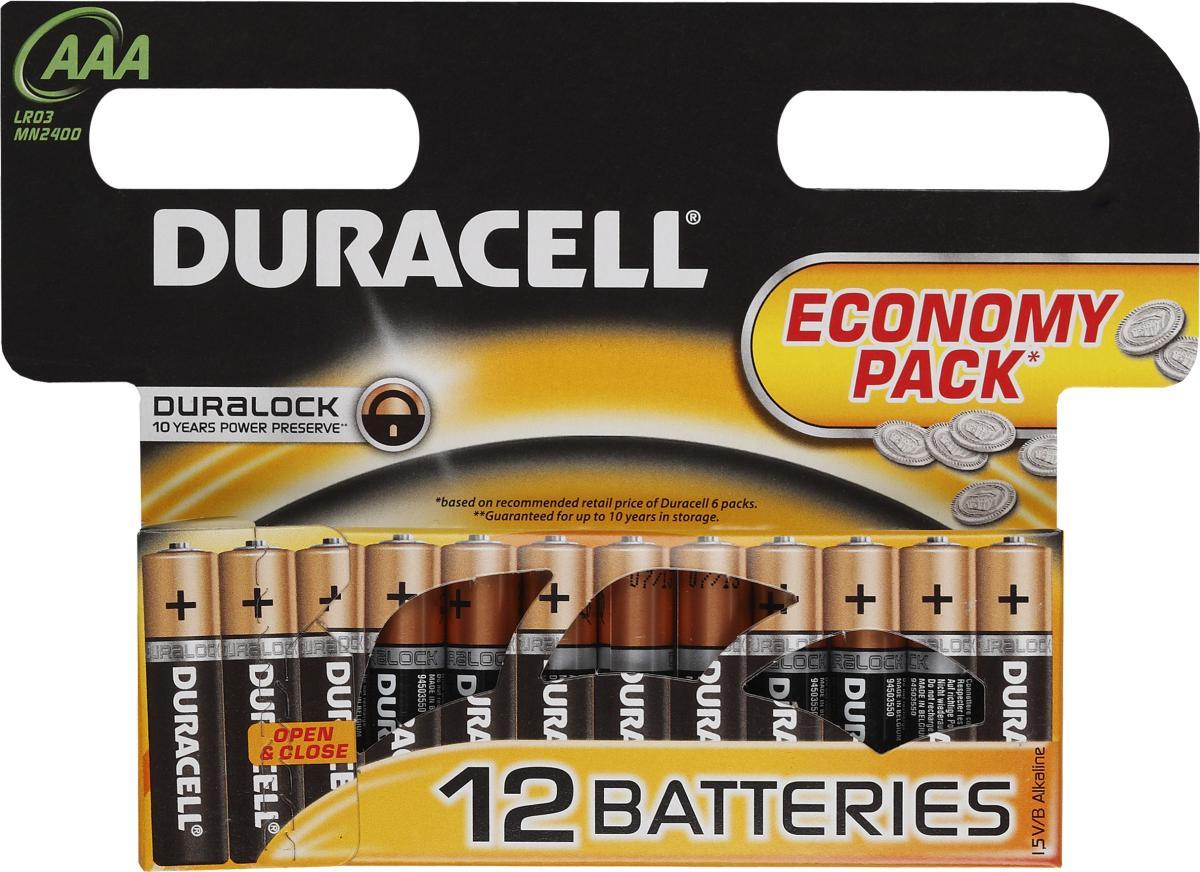 Батарейки Duracell LR03-12BL Basic SotMarket.ru 360.000