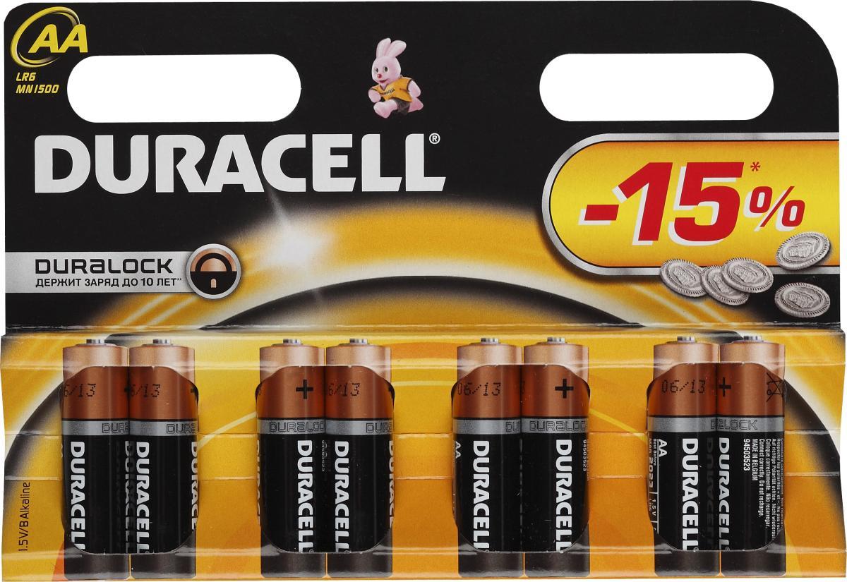 Батарейки Duracell LR6-8BL Basic SotMarket.ru 260.000