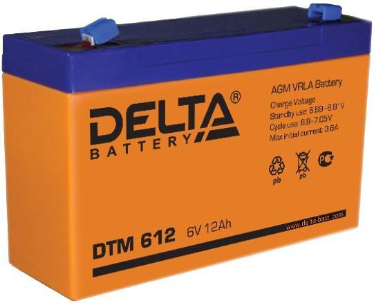 Аккумулятор Delta DTM 612 SotMarket.ru 1330.000