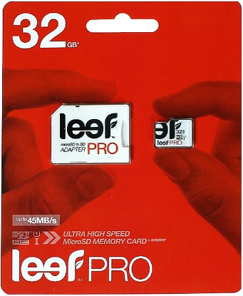 Leef MicroSDHC 32GB Class 10 Pro + SD adapter SotMarket.ru 1290.000