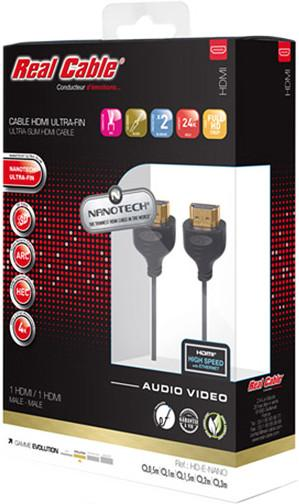 Кабель HDMI-HDMI Real Cable HD-E-NANO-C/1M50 1.5 м SotMarket.ru 2130.000
