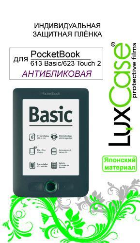 Защитная пленка для PocketBook 613 Basic LuxCase антибликовая SotMarket.ru 430.000