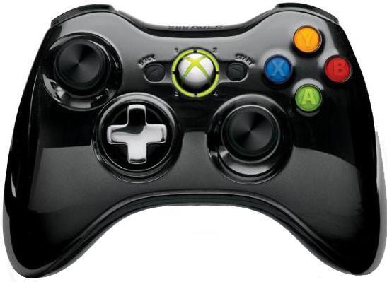 Джойстик для Microsoft Xbox 360 43G-00059 Chrome Black