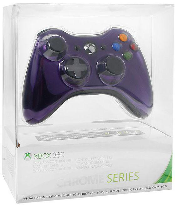 Джойстик для Microsoft Xbox 360 43G-00062 Chrome Purple