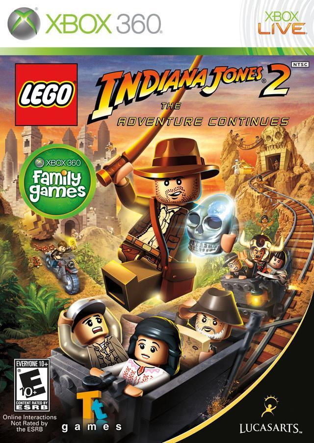 LEGO Indiana Jones 2: the Adventure Continues 2009 Xbox 360