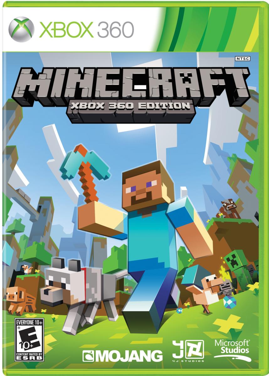 Minecraft 2012 Xbox 360 + подписка на Live Gold