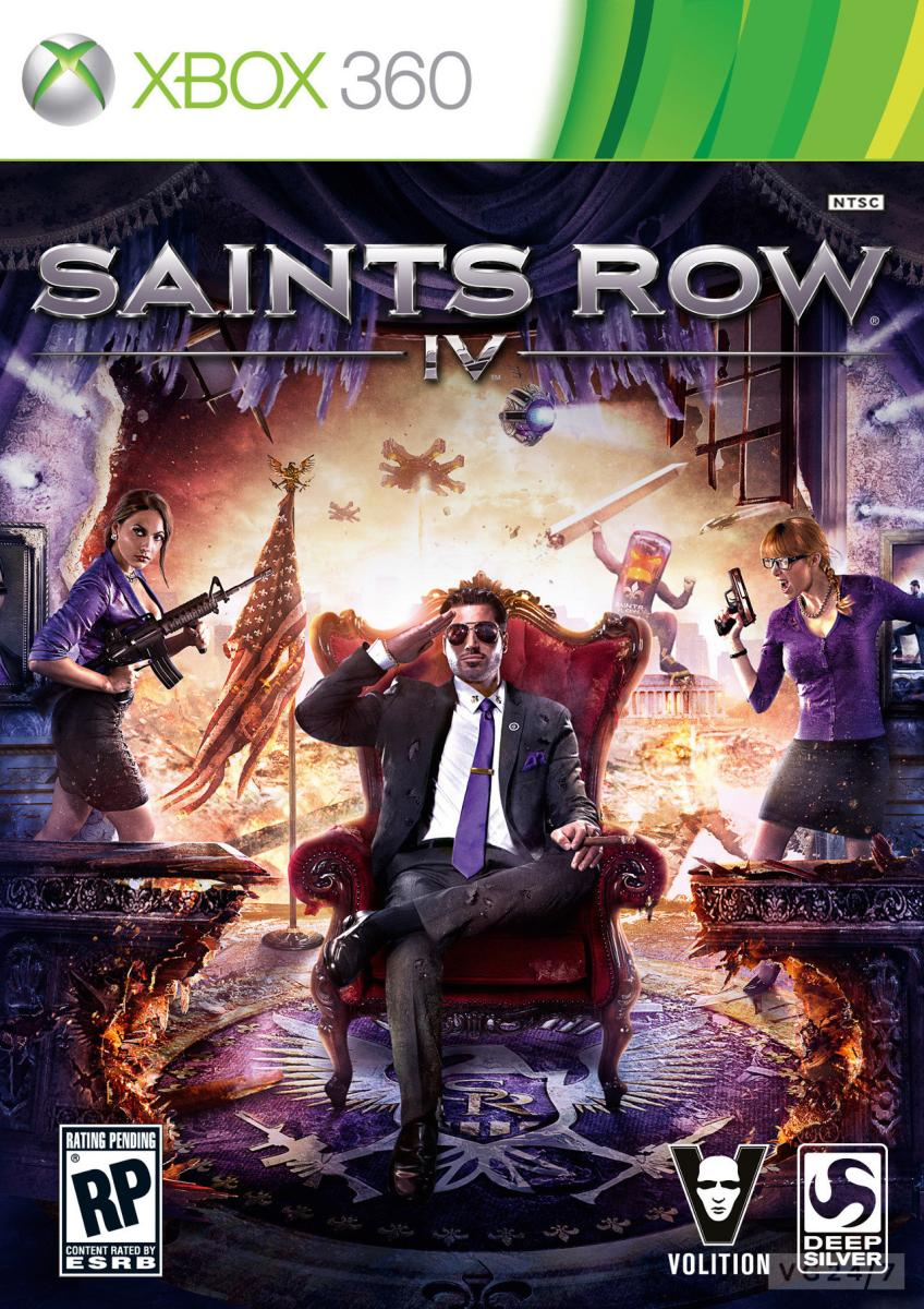 Saints Row 4 2013 Xbox 360 SotMarket.ru 2150.000