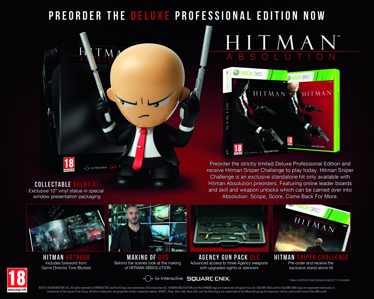 Hitman Absolution. Deluxe Professional Edition 2012 PC SotMarket.ru 3300.000