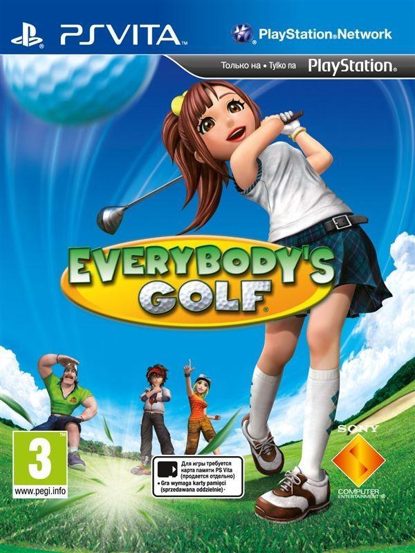 Everybody's Golf 2012 PSVita SotMarket.ru 2260.000