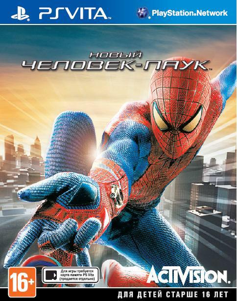 Новый Человек-паук 2013 PS Vita SotMarket.ru