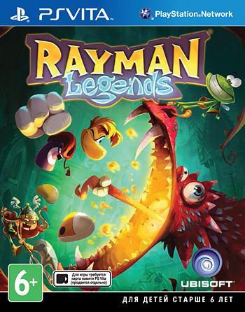 Rayman Legends 2013 PSVita SotMarket.ru 1900.000