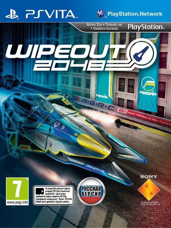 WipEout 2048 2012 PS Vita