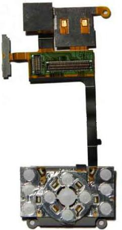Шлейф для Sony Ericsson S500i с подложкой клавиатуры, боковыми кнопками и Card Read SotMarket.ru 640.000
