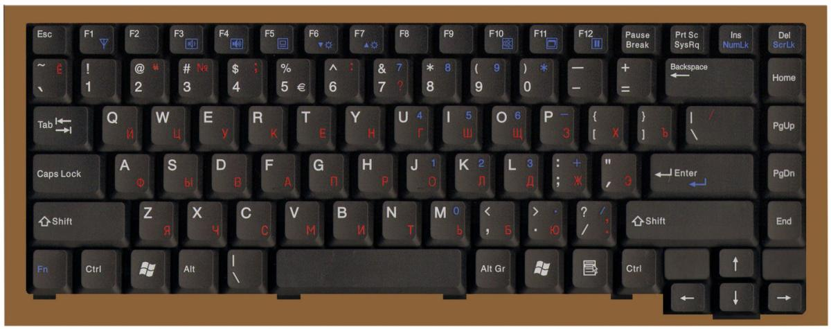 Клавиатура для Fujitsu-Siemens Amilo L1300
