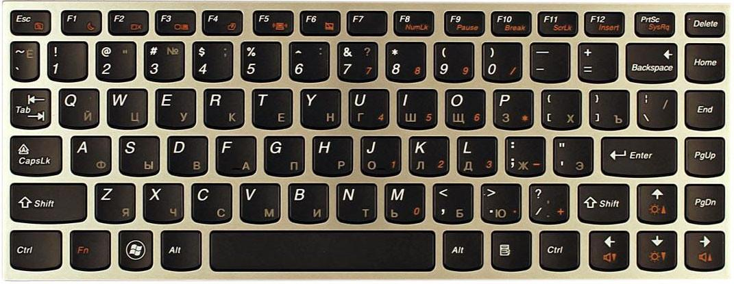 Клавиатура для Lenovo IdeaPad U460 KB-736U