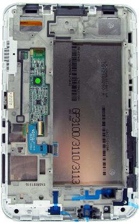 Дисплей для Samsung GALAXY Tab 2 7.0 P3100 с тачскрином ORIGINAL SotMarket.ru 6190.000