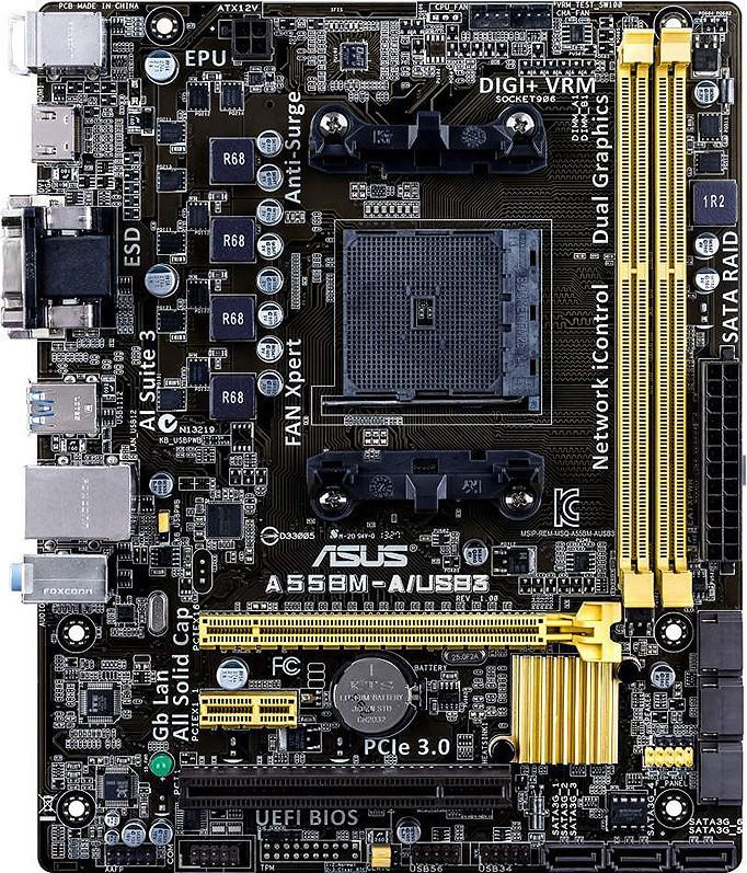 Asus A55BM-A/USB3 SotMarket.ru 3000.000