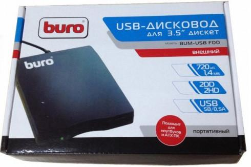 Внешний DVD привод BURO BUM-USB FDD SotMarket.ru 1170.000