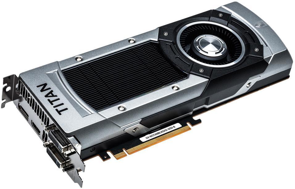 GIGABYTE GeForce GTX TITAN GV-NTITANBLKGHZ-6GD-B PCI-E 3.0