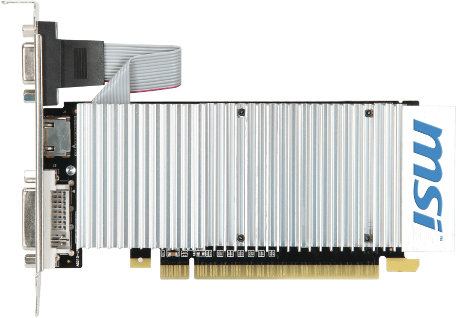 MSI GeForce GT 210 N210-TC1GD3H/LP PCI-E 2.0 SotMarket.ru 1820.000