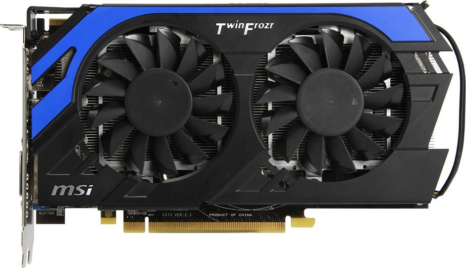 MSI Radeon HD 7850 R7850 Hawk PCI-E 3.0