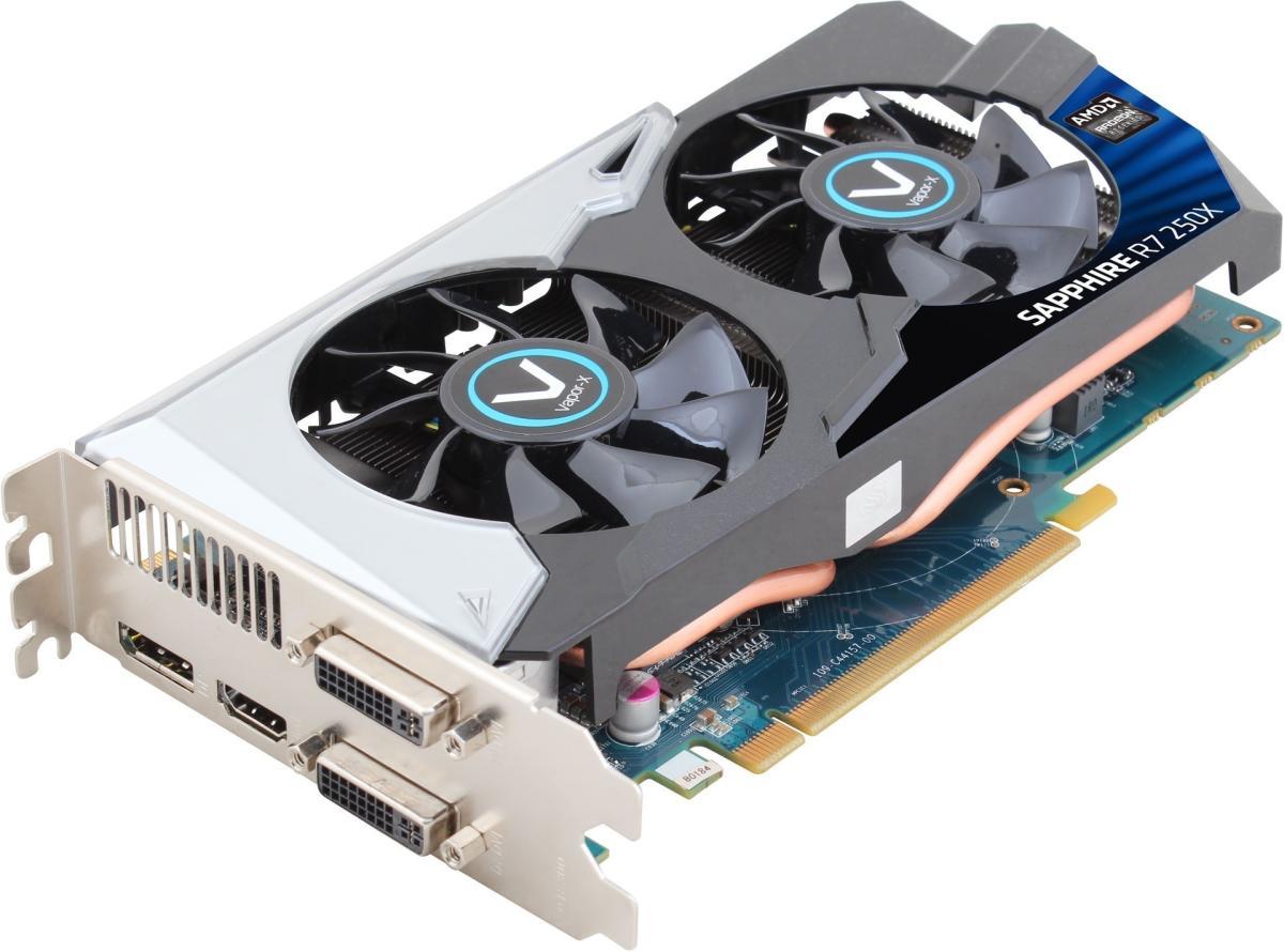 Sapphire Radeon R7 250X 11229-01-20G PCI-E 3.0