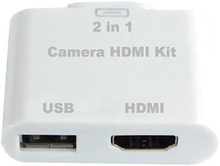Переходник HDMI для Apple iPad 2 Camera HDMI Kit SotMarket.ru 1490.000