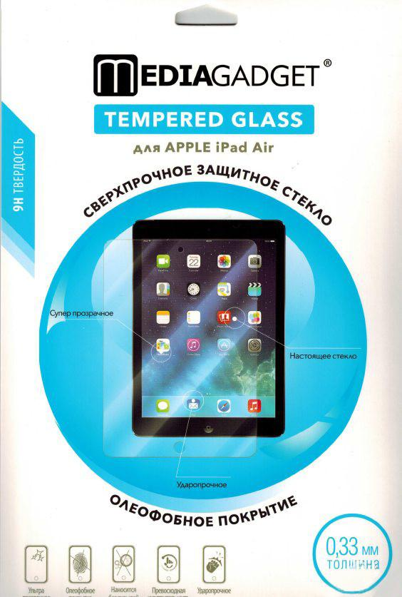 Защитное стекло для Apple iPad Air Media Gadget Tempered Galss SotMarket.ru 790.000