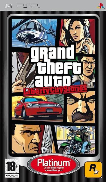 Rockstar Games Grand Theft Auto: Liberty City Stories (Platinum) 2005 PSP русская документация SotMarket.ru 760.000