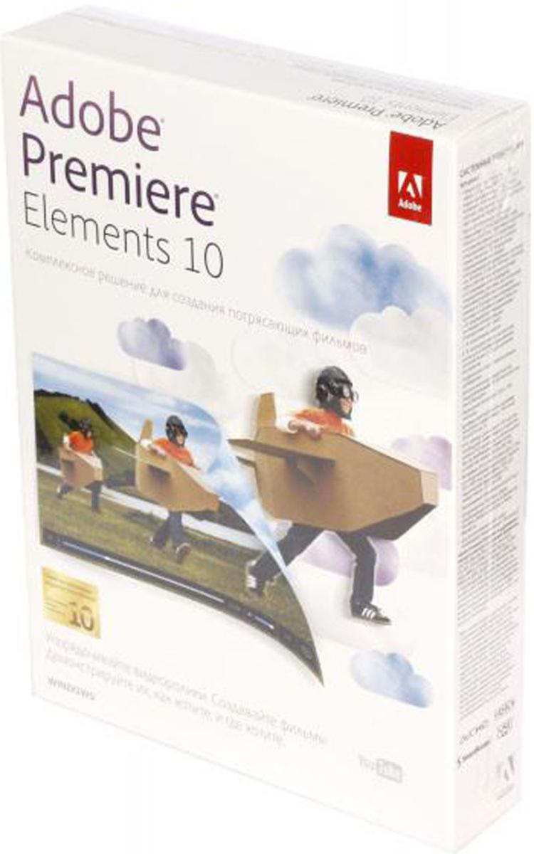 Adobe Premiere Elements 10 Windows Russian Retail Box SotMarket.ru 1310.000