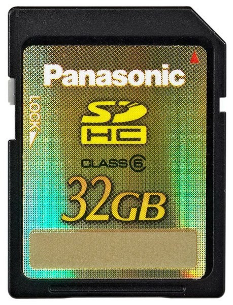Panasonic SD SDHC 32GB Class 6 SotMarket.ru 1250.000