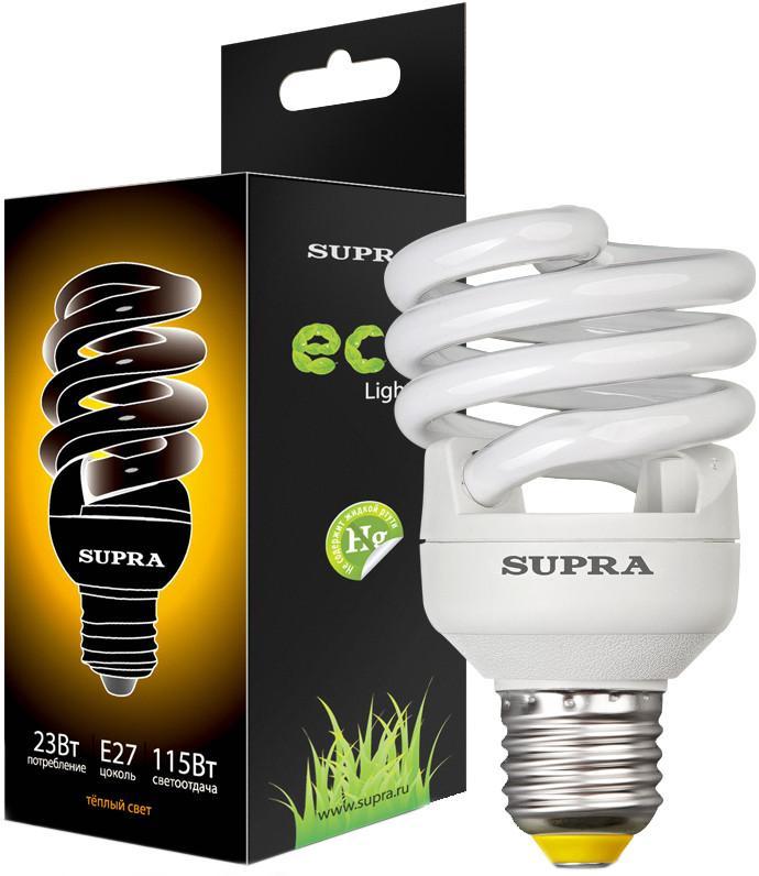 Энергосберегающая лампа SUPRA SL-FSP 23W E27 SotMarket.ru 200.000