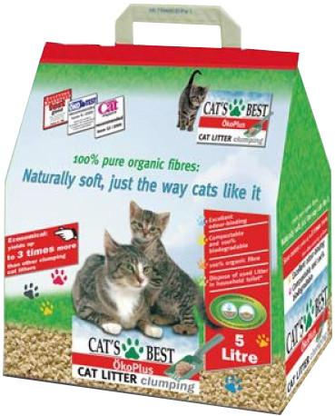 Наполнитель Cat's Best Eko plus 12104 SotMarket.ru 670.000