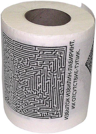 Туалетная бумага Эврика Лабиринт SotMarket.ru 150.000