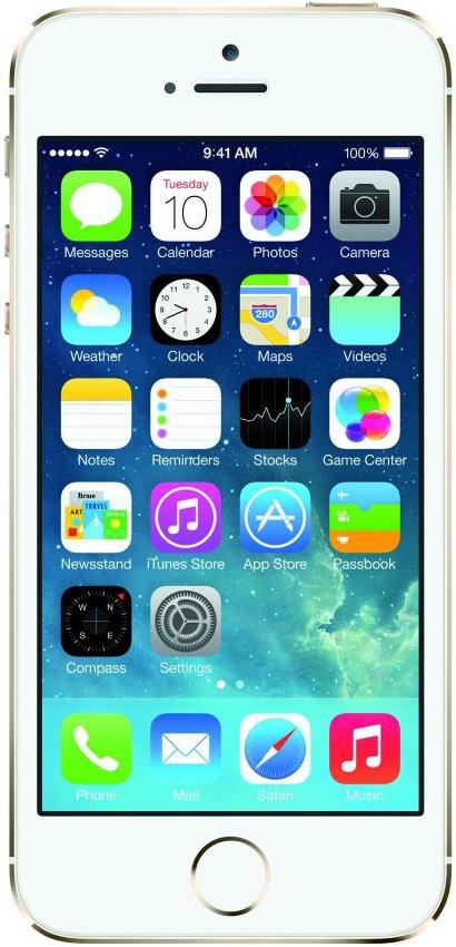 Купить 4quot Смартфон Apple iPhone 5s 16 ГБ серебристый в
