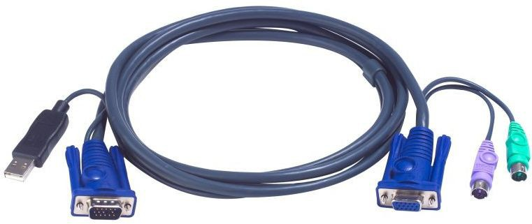 Кабель KVM USB+PS/2 ATEN 2L-5503UP 3 м SotMarket.ru 1790.000