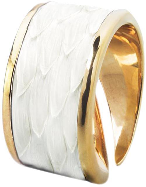 Кольцо Bon Vie Бланш - Белый питон КЦ818-20 SotMarket.ru 2100.000