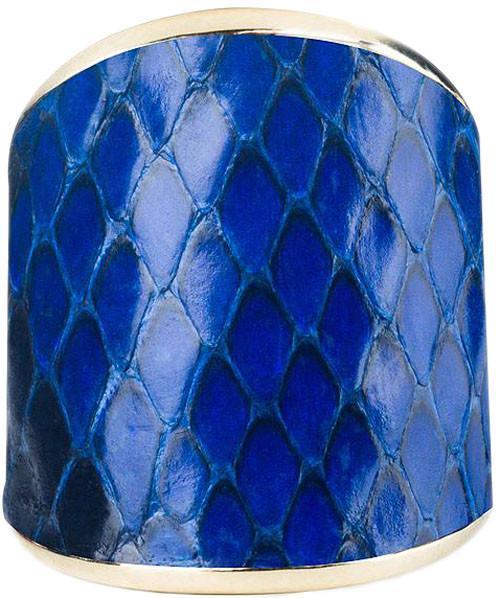 Кольцо Bon Vie Жаклин - Синий питон КЦ807-14 SotMarket.ru 2100.000