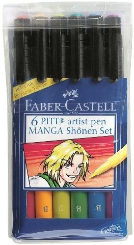 Набор ручек Faber Castell MANGA 167131
