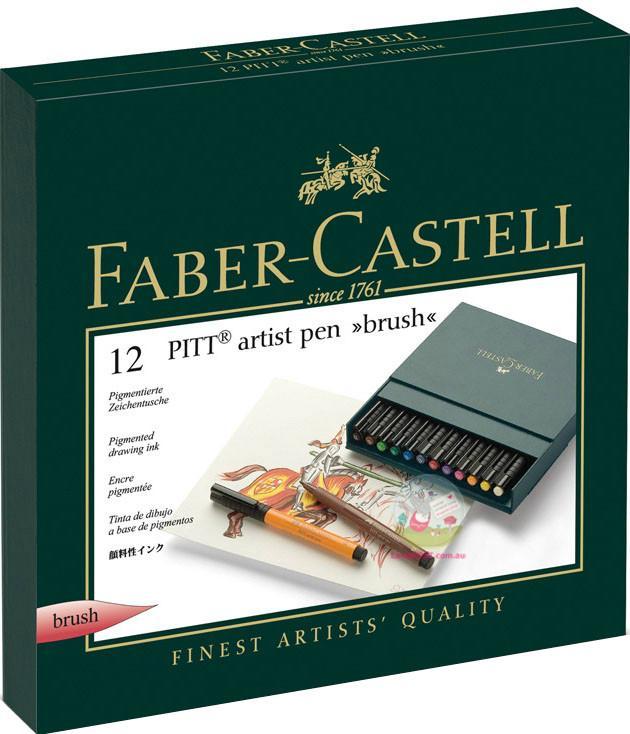 Набор ручек Faber Castell PITT ARTIST PEN 167146