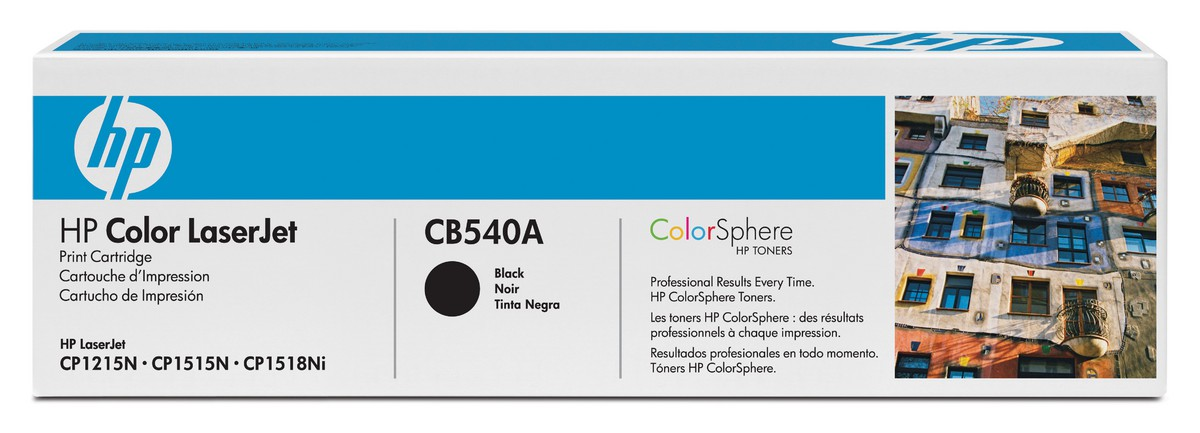 Картридж для HP Color LaserJet CP1215 CB540A SotMarket.ru 3940.000