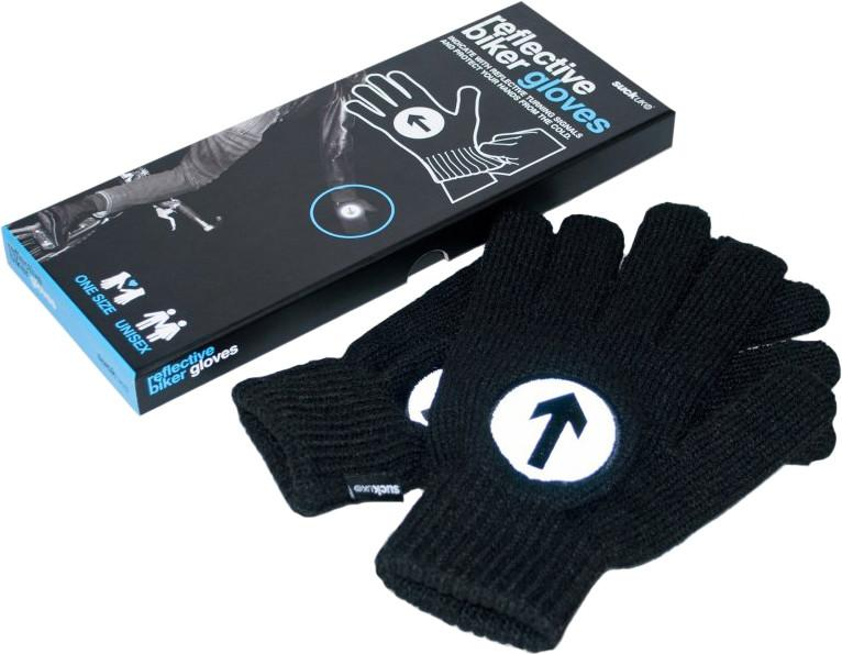 Перчатки Suck UK GLOVES REFLECTIVE BIKER GEAR SotMarket.ru 1000.000