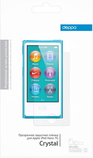 Защитная пленка для Apple iPod nano 7G Deppa 61106 прозрачная SotMarket.ru 250.000