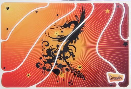 Наклейка для Apple MacBook 15 Gizmobies 3D Dragon Turbulence SotMarket.ru 1660.000